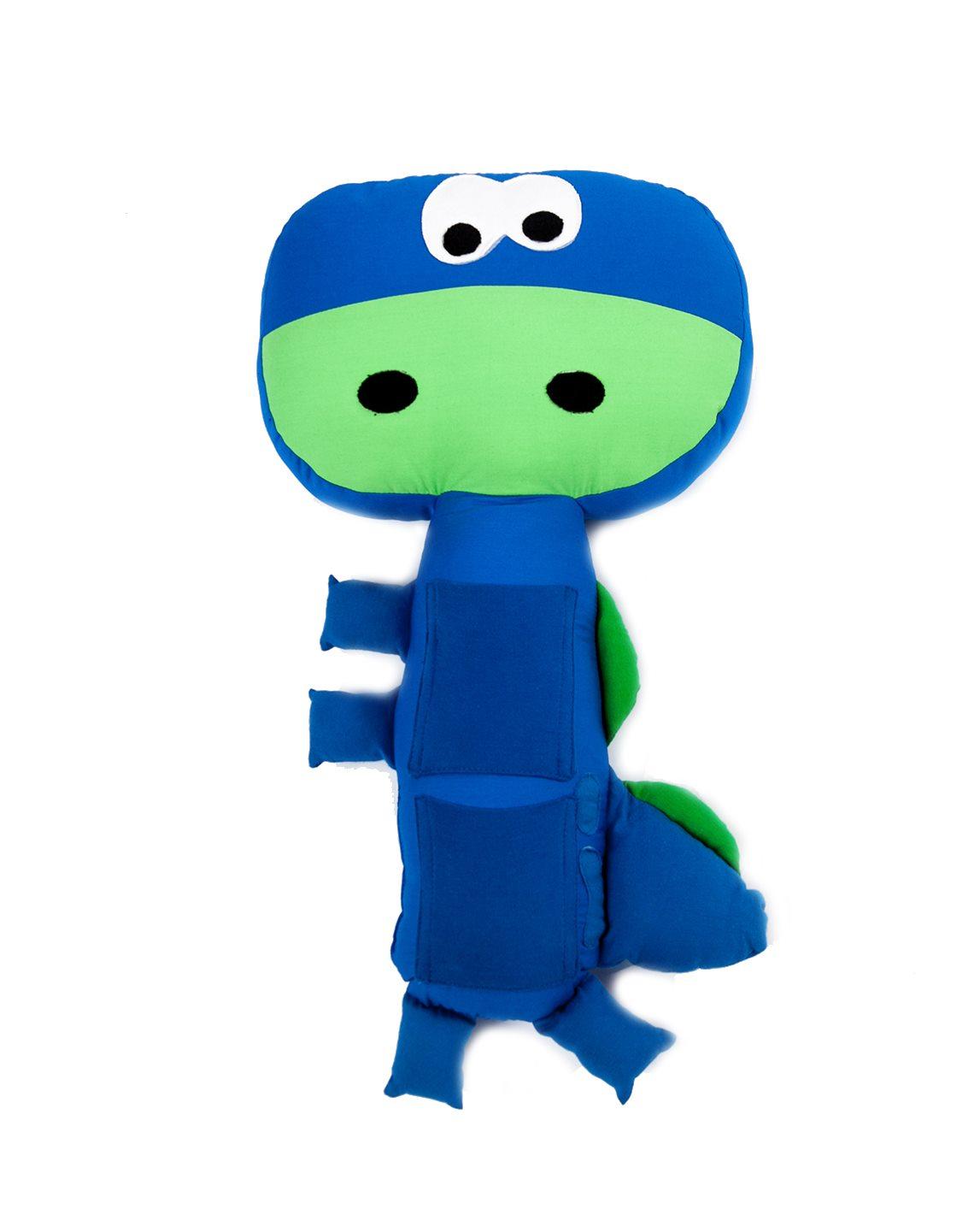 Almofada De Cinto De Segurança – Dino Azul