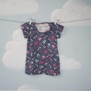 Vestido Acessórios Femininos Bebê -0