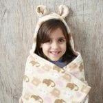 Cobertor com Capuz Gatinhos-980