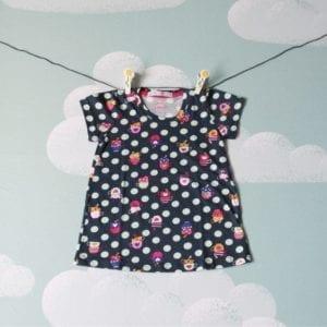 Vestido Chá das 5 Infantil-0