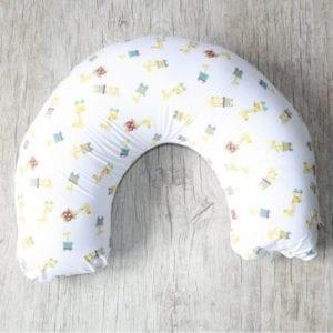 Almofada de Amamentação - Girafa Carrinhos + capa Listras Creme-0
