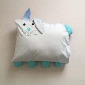 Travesseiro de Coelho Azul