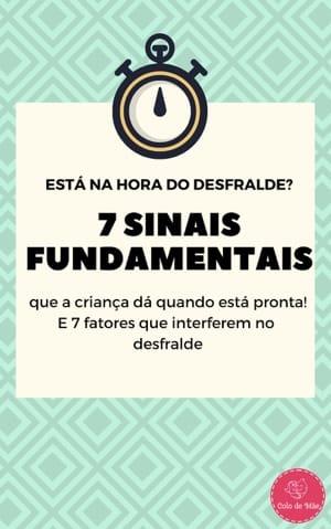e-Book Grátis - 7 Sinais Hora do Desfralde