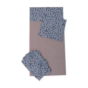 Jogo de lençol para mini cama Insetos 3 peças