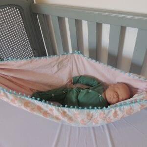 Rede para bebês Dupla Face Elefantes