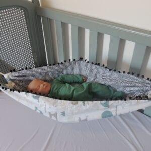 Rede para bebês Dupla Face Baleia