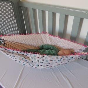 Rede para bebês Dupla Face Insetos