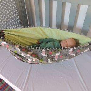 Rede para bebês Dupla Face Lhama