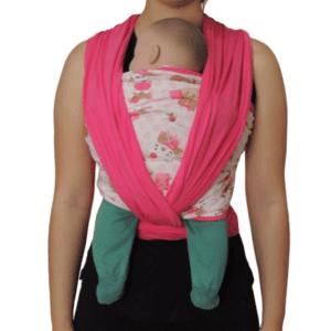 Sling Raposa Pink Colo De Mãe