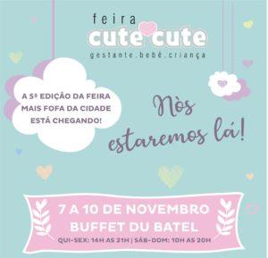 Colo de Mãe na 5ª Edição da Feira Cute Cute em Curitiba