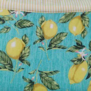 Tapete de Atividades Piquenique Impermeável e acolchoado Limões tradicional – 1,40m x 1,40m