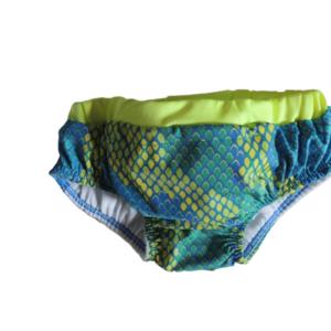 Sunga para bebê Neon – dispensa o uso de fralda! Lavável e reutilizável