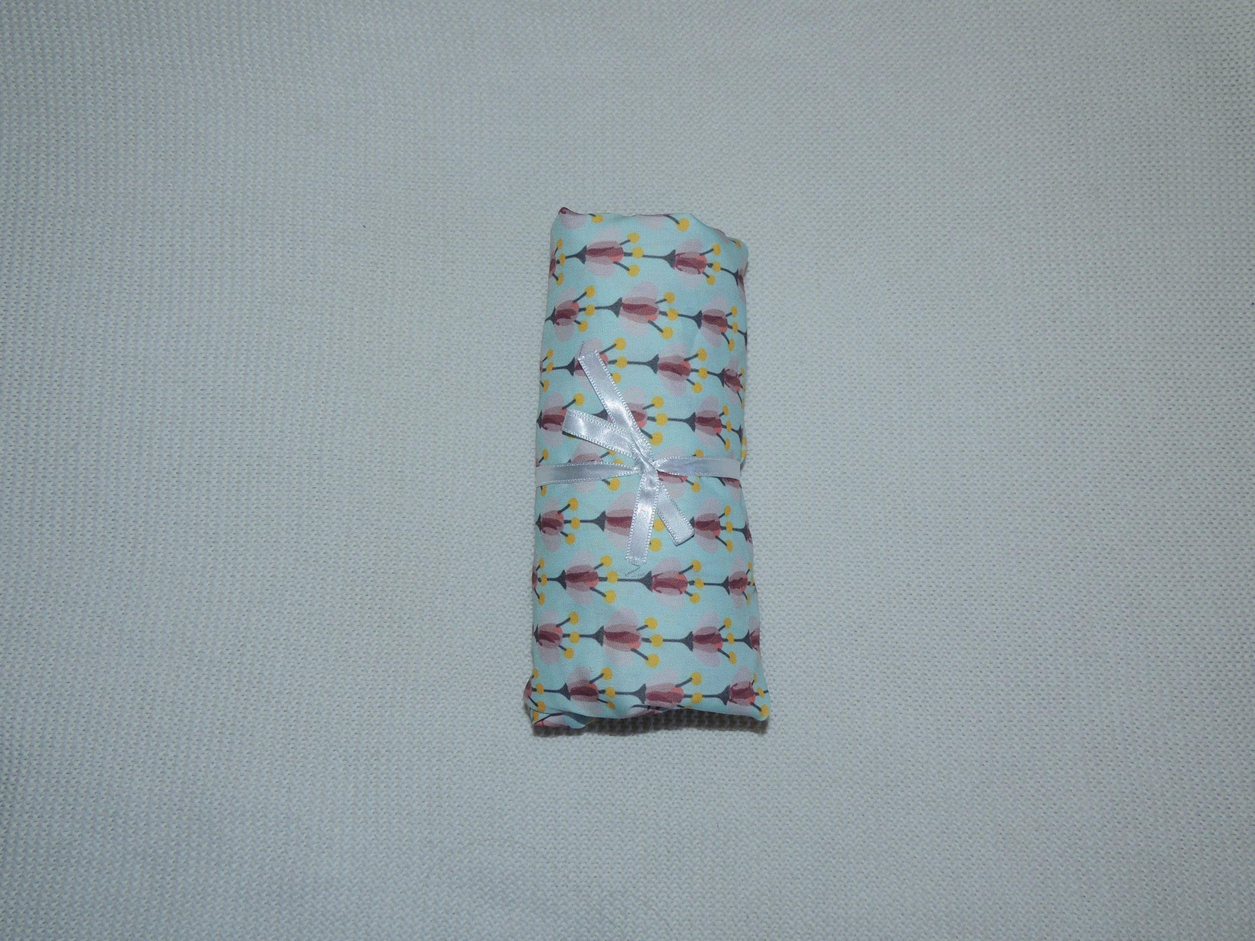 Lençol Para Mini Berço Agarradinho Para Colchões De 86x42x8 -Flores Colo De Mãe