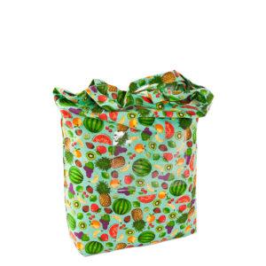 Tapete de Atividades Piquenique Impermeável e acolchoado Frutas tradicional – 1,40m x 1,40m