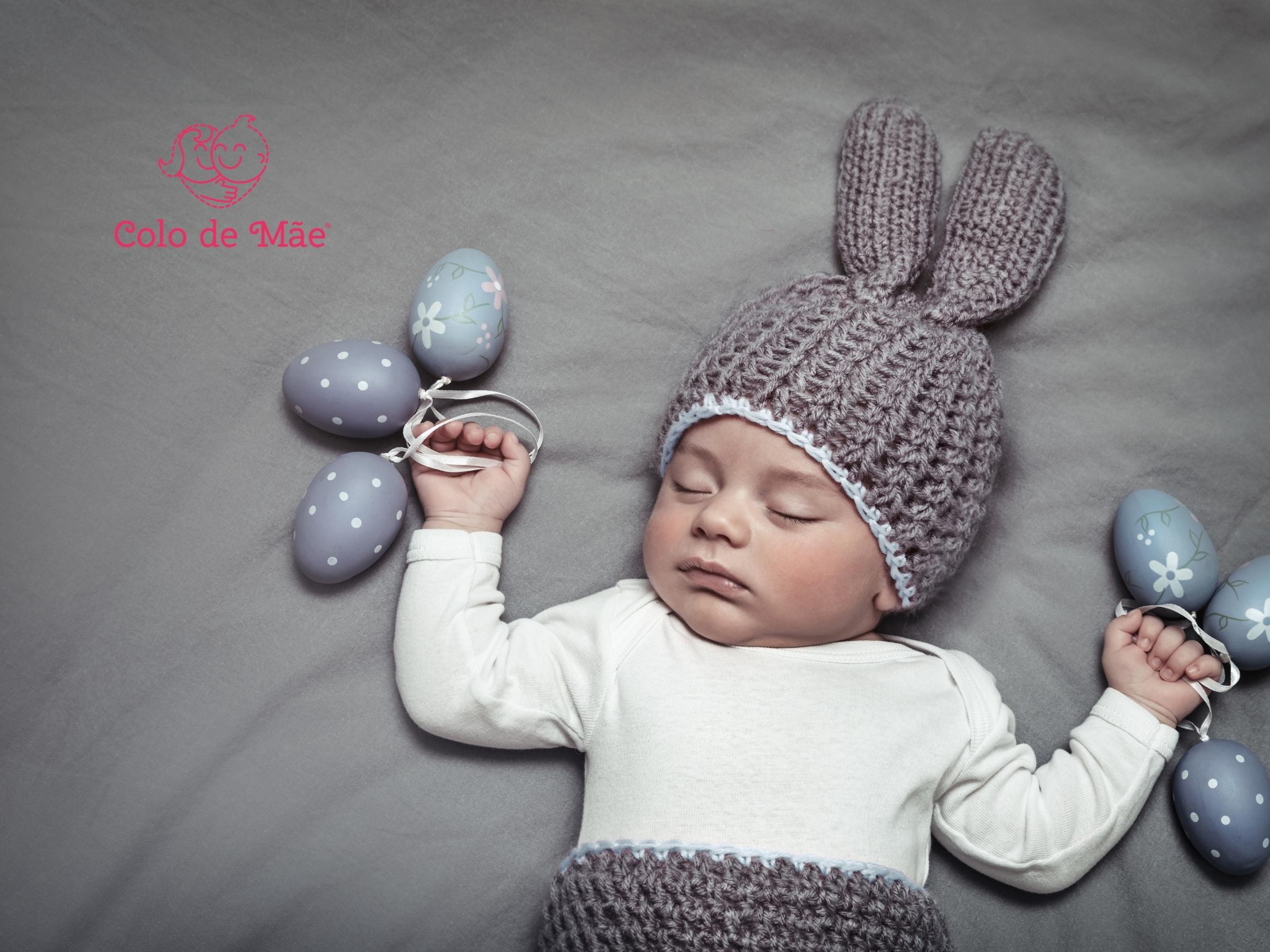 A primeira Páscoa do Bebê
