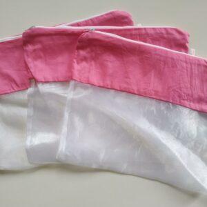 Saquinho Organizador de Roupas para maternidade – kit com 3 unidades Pink