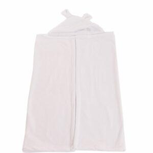 Cobertor com Capuz Off White