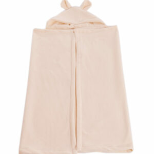 Cobertor com Capuz Creme