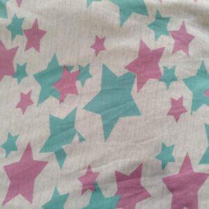 Toalha MEGA Estrelas 1,30m x 1,25m da Colo de Mãe