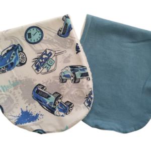 Pano de Ombro para Amamentação Carros Corrida – kit com 2