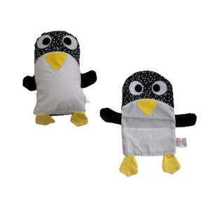 Kit Naninha de Pinguim com Capa Extra